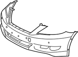 52119-5a902 Toyota Cover Front Bumper 521195a902 New Genuine Oem Part