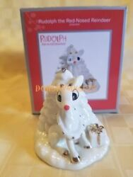 Carlton Cards Heirloom 2012 Rudolph The Red Nosed Reindeer Ornament Cc