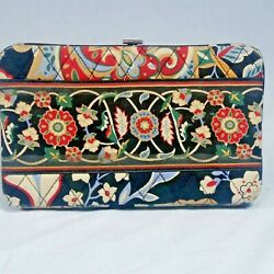 Vera Bradley Snap Purse Clutch w Flowers Floral Wallet for Child Young Girl