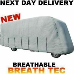 New Grey Maypole 7.0m To 7.5m Motorhome Winter Summer Cover Breathable 7.0 7.5
