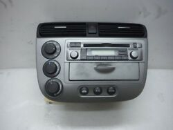 2005 HONDA CIVIC HYBRID MT HEATER AC CLIMATE CONTROL CD PLAYER RADIO AM FM OEM