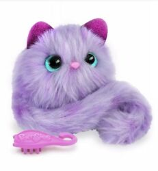New Pomsies Pom-pom Interactive Pet Speckles Gift Play Lovable Cuddle Cute Soft