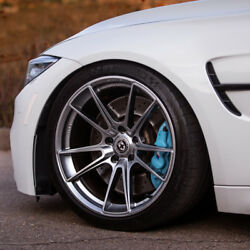21 Hre Ff04 21x9 Silver Concave Forged Wheels Rims Fits Tesla Model S