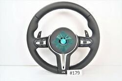 New BMW M5 Heated Steering Wheel with Vibration Motor & Shift Paddles F10 #179