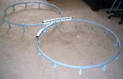Graduated Support Columns Piers For Disney Toy Monorail Track Short Version