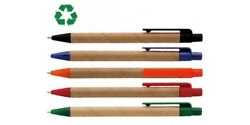 1000 X Recycled Pens Bulk Lots Wholesale Fast Delivery Australia Eco Click Pens