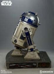 R2-D2 Lifesize Figurine 1:1 Scale Star Wars Sideshow Collectible Display