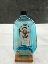 Bombay Sapphire Gin Bottle Wall Clock With Lid