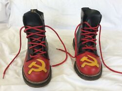 Rare Hammer And Sickle Doc Martens