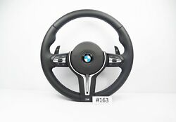 New BMW M3 M4 Heated Steering Wheel with Vibration Motor & Shift Paddles #163