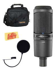 Audio-Technica AT2020USBi Cardioid Condenser USB Microphone w Gear Bag