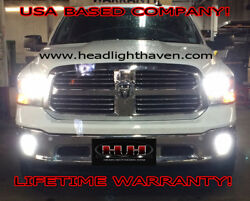 LED HEADLIGHT KIT 2017 2018 DODGE RAM 1500 2500 5500 CANBUS GUARANTEED TO WORK!!