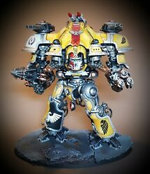 Pro-painted Imperial Knight Army For Warhammer 40k - Free Codex