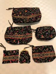 Vera Bradley 6 Retired Ming pattern Cosmetic bag Jewelry pouch