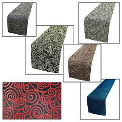 Table/bed Runnerchinese Rayon Brocade Dinning Coffee Cloth Header Coverbl16