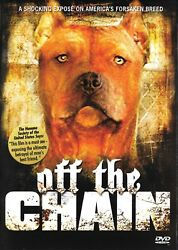 Off The Chain: Documentary About Pit Bull Terrier - Rare OOP DVD - FREE Shipping