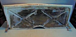 Sunbeam Alpine Series Ii Center Boot Cover Panel-great Piece To Work With-t 2