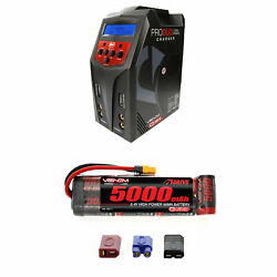 Venom 8.4v 5000mah Nimh Flat Pack Battery With Pro Duo Charger Combo