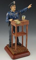 Vanmark Morning Briefing Blue Hats Bravery Figurine L.e.1/2372 Police Department