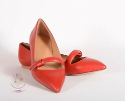 MARC BY MARC JACOBS 'Seditionary' Leather Flats Sz 39 12 EU  9 US $295 NWOB