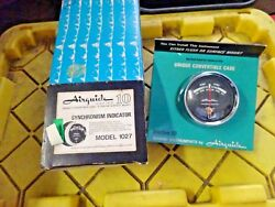 Vintage Airguide 1027 Syncronism Indicator Series 10 Engine Rpm Syncronizer