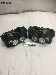 Yamaha Yzf R1 2cr 2017 Front Brake Calipers Genuine Lot50 50y4269 - M826