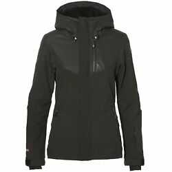 O Neill Coral Womens Jacket Snowboard - Black Pink All Sizes