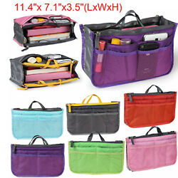 Large Organizer Toiletry Cosmetic Bag Travel Makeup Storage Case Box Container L $5.94