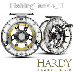 Hardy Ultralite Asr Disk Drag Cassette Fly Fishing Reel W/ 2 Spare Spools And Case