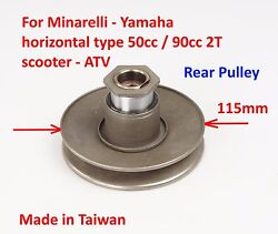 Rear Pulley Kit Torque Driver For 50cc 90cc 2t Yamaha Scooter Vino 50 Jog 50