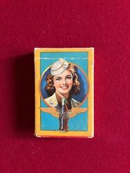 1940's, Wwii, Coca-cola, Complete Deck Of Playing Cards Scarce