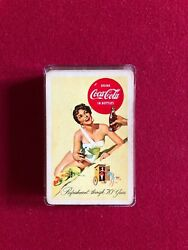 1950's, Coca-cola, Complete Deck Of Playing Cards Scarce