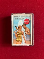 1960's, Coca-cola, Complete Deck Of Playing Cards Scarce Complete