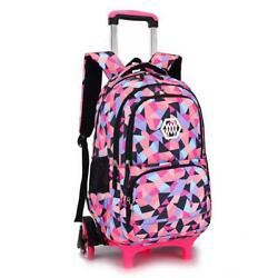 Children School Bags with 23 Wheels for Girls