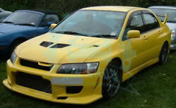 Front/Rear Bumper Lamp Side Skirt Body Kits For EVO 7 8 9  FRP CW-Style