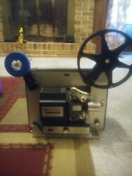 Bell And Howell 462a Super 8 Film / Movie Projector. Serviced And Tested