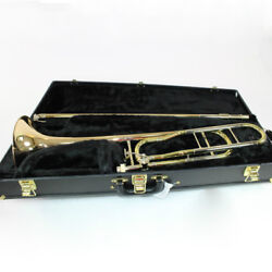C.g. Conn Model 88ho And039symphonyand039 Professional Trombone Mint Condition