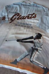 Sf Giants Willie Mccovey Tommy Bahama Limited Edition 3xl Camp Shirt 454/775