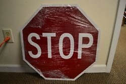 Double Sided Stop Slow Sign by Traffix