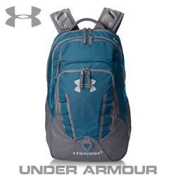 Under Armour blue backpack for gym school travel Storm kids men women durable