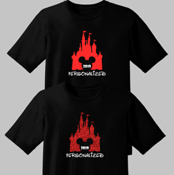 2019 Disney Family Vacation Matching Shirts Personalized Tee T-Shirt - ALL SIZES