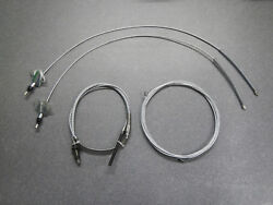 65 66 67 68 Buick Lesabre Wildcat Electra Parking Brake Cable Set Emergency New
