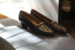Church's Womens Shoes Rare Discontinued Black Pumps Made In England New Sz 8 Aa