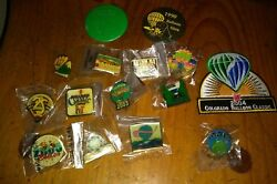 Lot Of 15 Different Colorado Springs Balloon Classic Pins And Patch