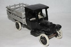 1920's Arcade Cast Iron Model T Ford Stake Truck, Restored
