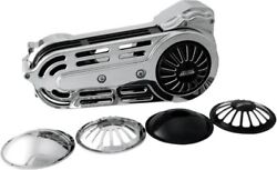 Belt Drives 2in. Belt Drive Kit With Changeable Domes, Chrome Evo-14b-2c 43-9251
