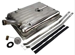 1956 Ford And Merc Stainless Steel Gas Tank With Sender And Straps - Fuel Tank Kit