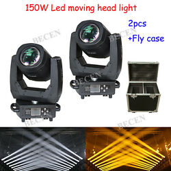 150W gobos super bright LED beam moving head light for stage dj 2pcs+ flycase