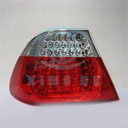 2pcs LED Rear Clear Light Lamp Tail Lights For BMW 3 Series E46 2 Door 2003-2006