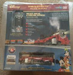 Lionel 6-83979 Mickey Mouse And Friends Express Lionchief Set Bluetooth Disney